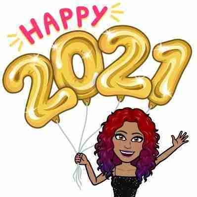 Happy 2021 Bitmoji